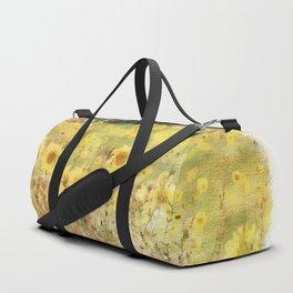 Field of Sunflowers Duffle Bag