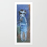 child Art Prints featuring Child by Deirdre Gillespie