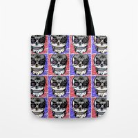 crane Tote Bags featuring CRANE by lucborell