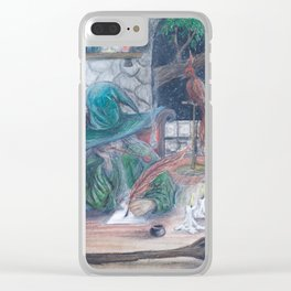 Journey's End Clear iPhone Case