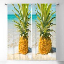 Pineapple Beach Blackout Curtain