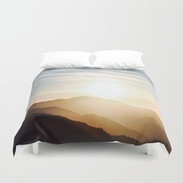 Close Your Eyes Duvet Cover