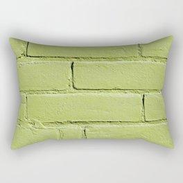 In the Light Lime Rectangular Pillow