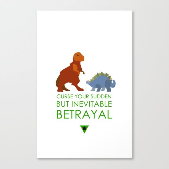 firefly betrayal Canvas Print