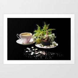A Perfect Tea Art Print