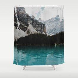 Lake Moraine, Banff National Park Shower Curtain