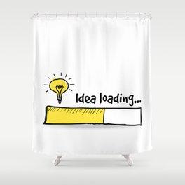 Idea Loading Shower Curtain