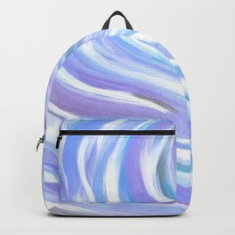 Swirly, Intuitive Abstract Art made with Acrylic Paint. Dream art. Flow Backpack