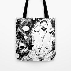 B & W  No.5 Tote Bag