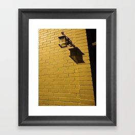 Well Worn And Alone Framed Art Print