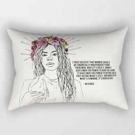 FEMINIST ICONS I Rectangular Pillow