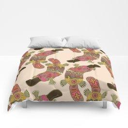 duck-billed platypus linen Comforters