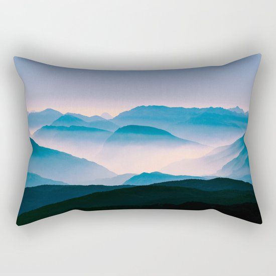 Pale Morning Light Rectangular Pillow
