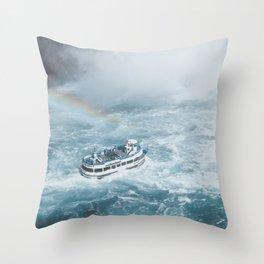 Niagara Falls III Throw Pillow