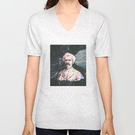 Mark Twain Unisex V-Neck
