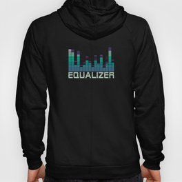 Equalizer Music Booster Hoody