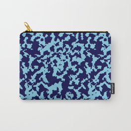 Camouflage Blue Carry-All Pouch