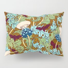 Golden thistle Pillow Sham