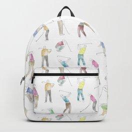 Watercolor Golfers Backpack