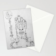 Face Balloon Stationery Cards