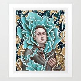 Self-Portrait: Sublimation Art Print