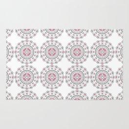 Heart Mandala – Pink Rug