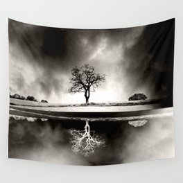 SOLITARY REFLECTION Wall Tapestry