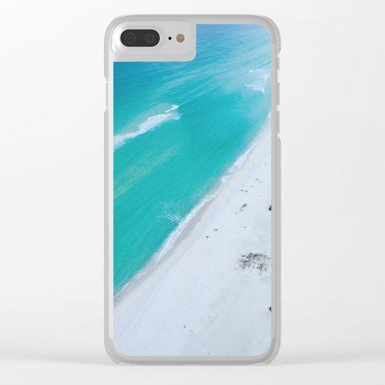 Ocean road paradise Clear iPhone Case