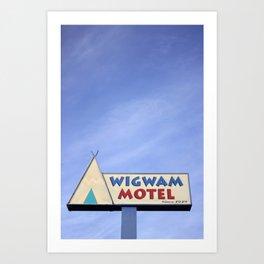 Wigwam Motel Route 66 Art Print