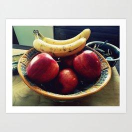 Fruit Bowl Art Print