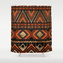 Aztec Ethnic Pattern Art N7 Shower Curtain