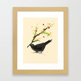 Spring Is Coming Framed Art Print