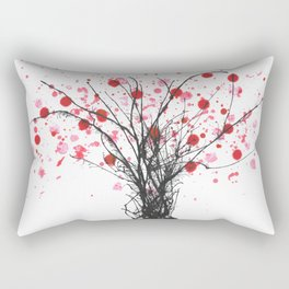 Cherry Spring Rectangular Pillow