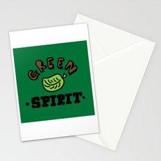 green spirit Stationery Cards