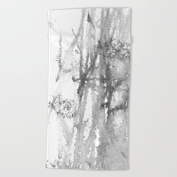 Autumn in gray2 Beach Towel