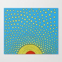 Playful Sunshine Canvas Print