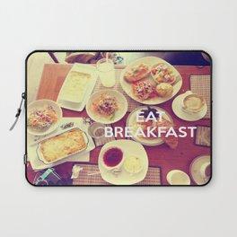 Eat Breakfast Laptop Sleeve