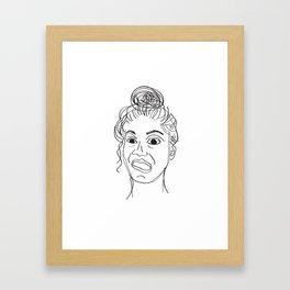 crayfie Framed Art Print