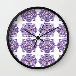 Transformed Emerald Wall Clock