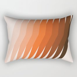 Desert Dusk Lanes Rectangular Pillow