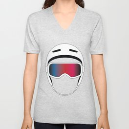 Snowboard Helmet and Goggles Unisex V-Neck