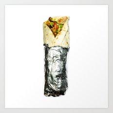 kebab Art Print