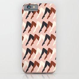 Leggy Guggenheim Peach iPhone Case