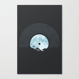 MOON TUNE Canvas Print