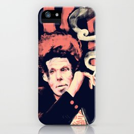 Drunken Piano and Tom - Abstract Portrait iPhone Case