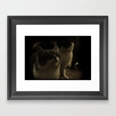 Kitty Katz Framed Art Print