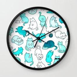 Kitties Wall Clock