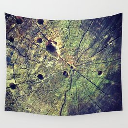 Nature Rings Wall Tapestry