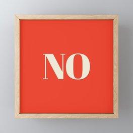 No Framed Mini Art Print