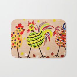 Crazy Chics Bath Mat